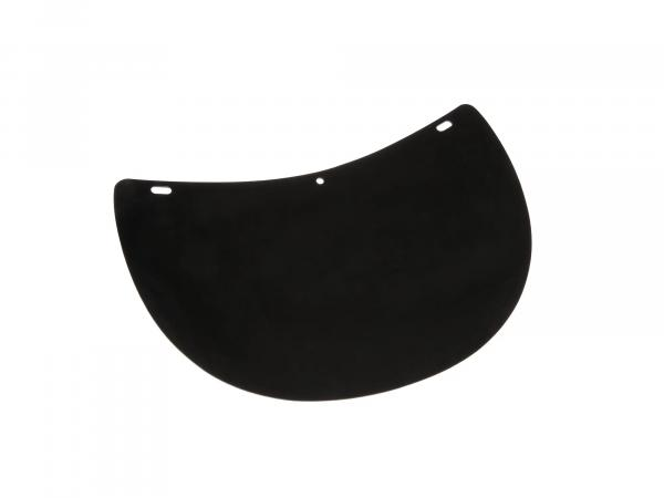 Rubber mud flap, splash guard, black - Simson SR2