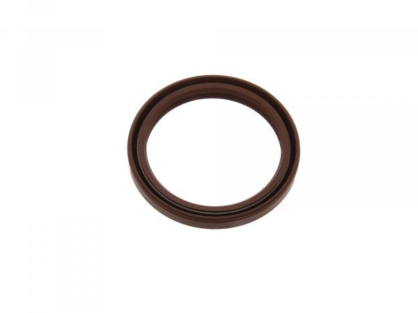 Oil seal 45x56x07, brown, dust lip