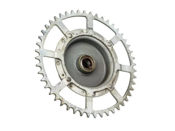 10065509 Radnabe mit Kettenrad - für Simson SL1 Mofa - Bild 1
