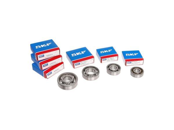 10010350 Set: Kugellager Motor, 6-teilig - MZ ES, ETS, TS 125, 150 - Bild 1