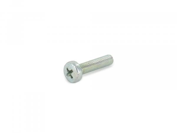 Oval head screw, cross recess M6x10 - DIN7985
