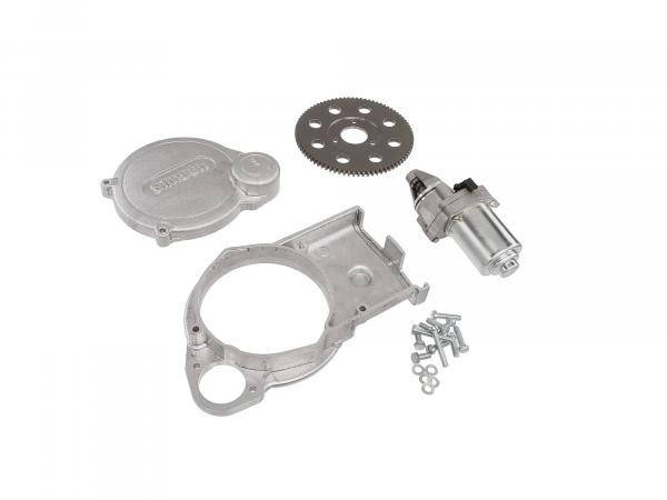 Set: Elektrostarter, Anlasser für 12 Vape-Zündung, M531, M541, M743 - Simson S51, S70, S53, S83, SR50, SR80, SD50