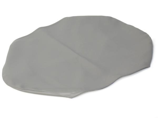 Sitzbezug glatt, grau für kurze Sitzbank ohne Schriftzug - für Simson KR51/1 Schwalbe, SR4-2 Star