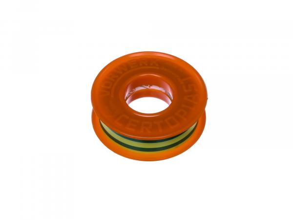 Insulating tape yellow-green