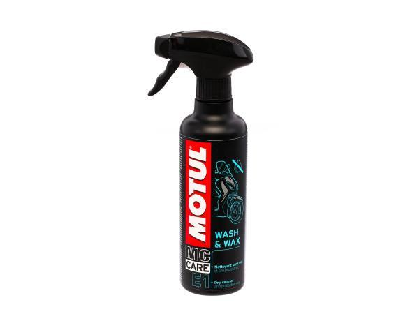 10057439 MOTUL Wash & Wax E1  (Pumpspray 400ml) (Oberflächenreiniger) - Bild 1