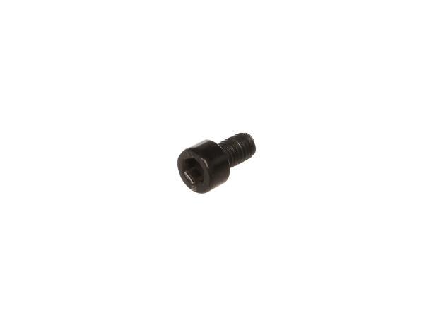 10064439 Zylinderschraube Innensechskant, Schwarz-verzinkt M6x10 - DIN912VG - Bild 1