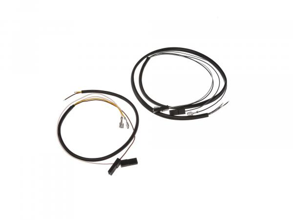 Wire harness for switch combination 12V without headlight flasher, flat handlebar - Simson S53, S83