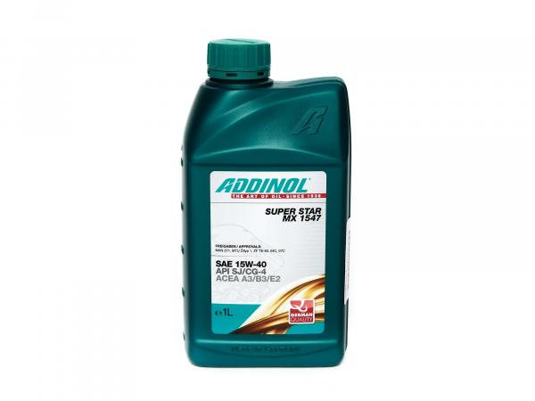 ADDINOL Super Star MX 1547, SAE 15W-40 car engine oil - 1 Liter