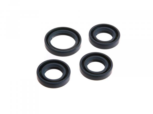 Set: shaft seals motor, blue, double lip - for RT125/3