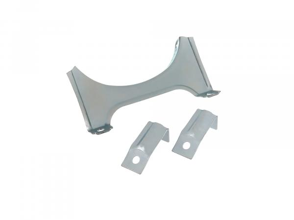 SET= 1x carrier holder (flat, low version), 2x carrier holder - galvanized - SR4-1