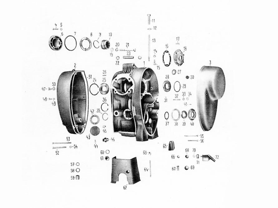 MZ KR51//1 Schwalbe FEZ Dichtring /Ø18x22 f/ür /Ölabla/ßschraube SR4-3 Sperber SR4-2 Star Kupfer f/ür Simson S50 SR4-4 Habicht Massiv