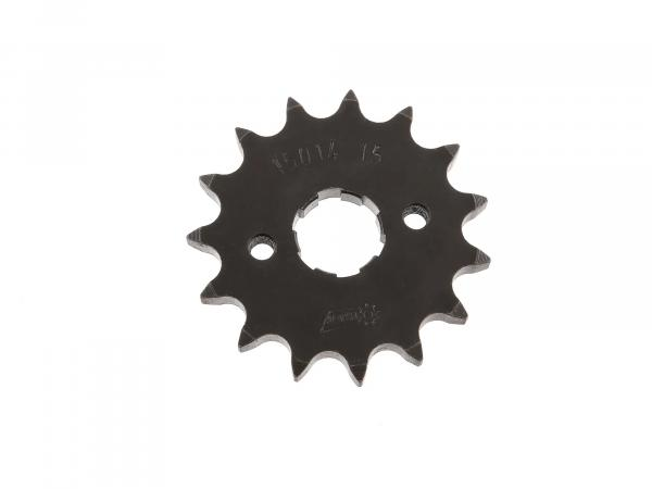 Drive chain wheel, sprocket - z=15 - 23801-108-000 Schikra