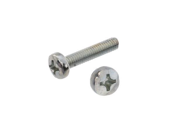 Oval head screw, cross recess M4x20 - DIN7985