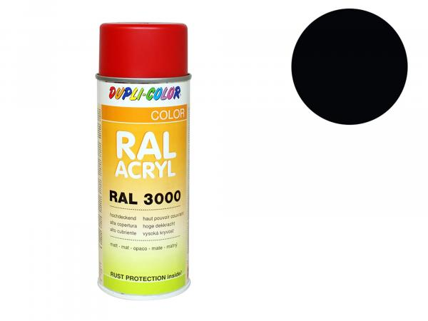 Dupli-Color Acryl-Spray RAL 9005 tiefschwarz, matt - 400 ml