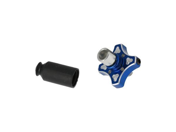 10070161 Ersatz Schnellverstellung mit Schraube blau - Bild 1