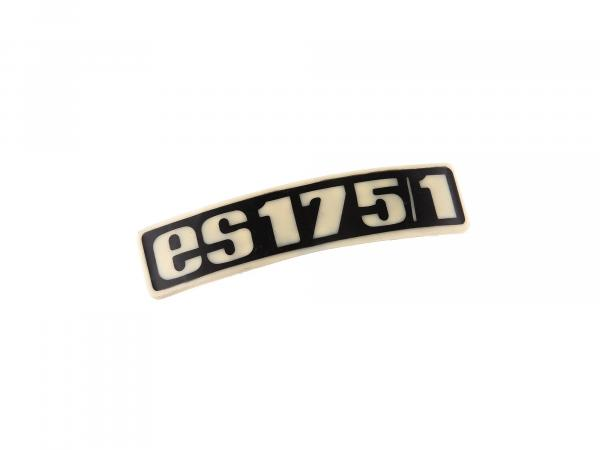 Schriftzug (Plakette aus Kunststoff) ES175/1