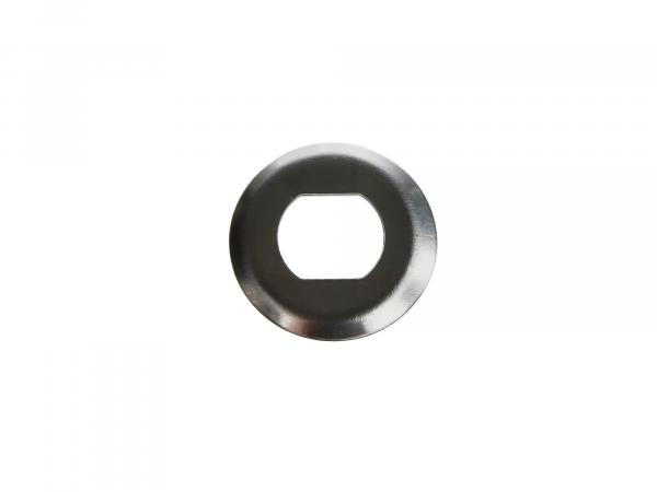 Locking plate for small chain wheel - for Simson S51, S70, S53, S83, KR51/2 Schwalbe, SR50, SR80