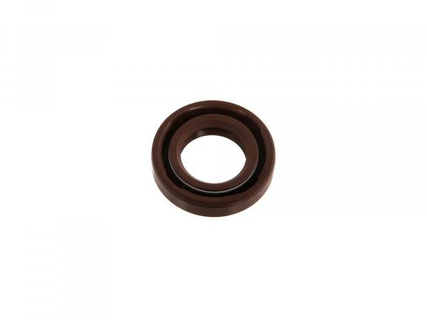 Oil seal 17x30x07, brown - MZ ES, RT, SR2, etc.