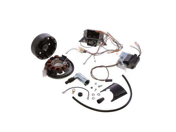 10001915 Set: Umrüstsatz VAPE auf 12V (ohne Batterie, Hupe und Leuchtmittel) - Simson S50, S51, S70 - Bild 1