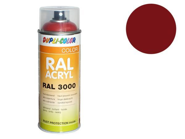 Dupli-Color Acryl-Spray RAL 3011 braunrot, glänzend - 400 ml
