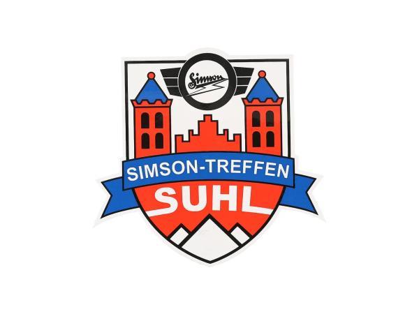 """10069670 Aufkleber - """"Simsontreffen Suhl"""", Wappen - Bild 1"""