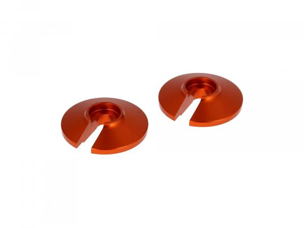 Set: 2 x orange washer - for Enduro suspension strut