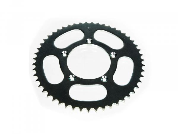 Gear rim for sprocket driver, 51 tooth, moped 25km/h (throttled) - for Simson S53, MS50, SR50