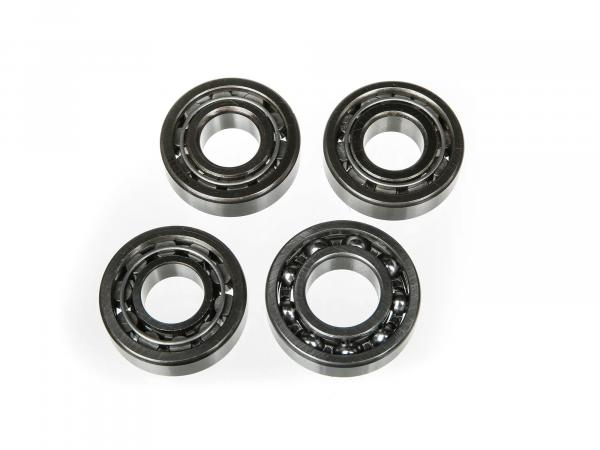 Set: Ball bearing motor + gearbox, 4 parts - for RT125/1, RT125/2