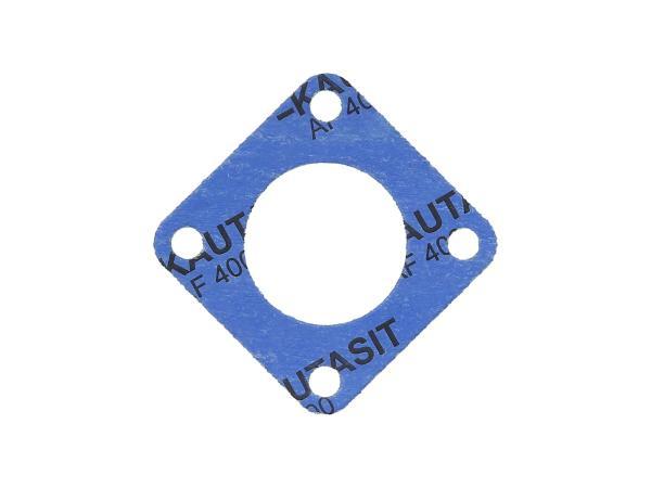 10069354 Dichtung aus Kautasit 1,0mm stark für Dichtkappe Abtriebswelle - für Simson S51, SR50, SR80, S53, S70, S83, KR51/2 Schwalbe, DUO 4/2 - Bild 1