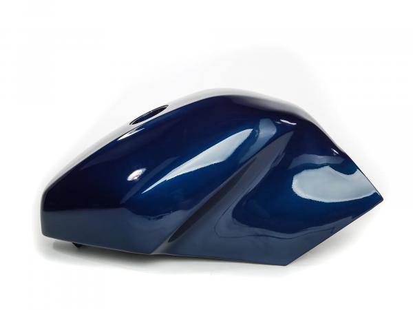 Fuel tank paint. night blue metallic