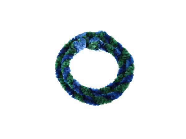 Nabenputzringe Grün/Blau (Set 1x 25cm + 1x 30cm für Fahrrad)