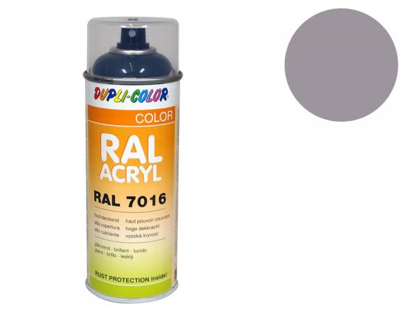 Dupli-Color Acryl-Spray RAL 7036 platingrau, glänzend - 400 ml