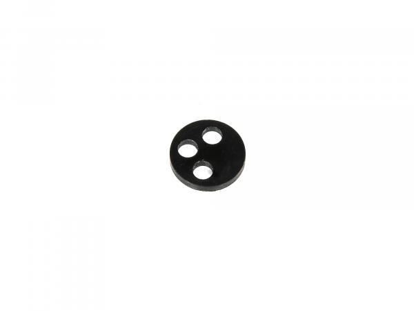 3-hole gasket for import petrol cock - for Simson S51, S50, SR50, Schwalbe, SR4