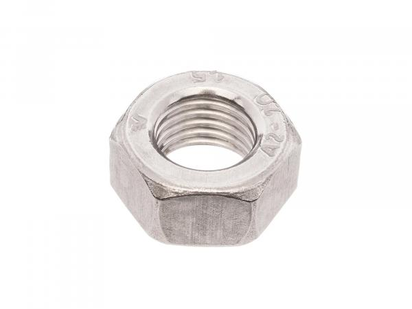 Hexagon nut M12x1,5 in stainless steel - DIN934