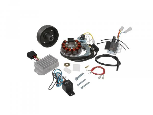 Alternator + ignition system ES 175-300/0/1/2, ETS 250 12V 150W