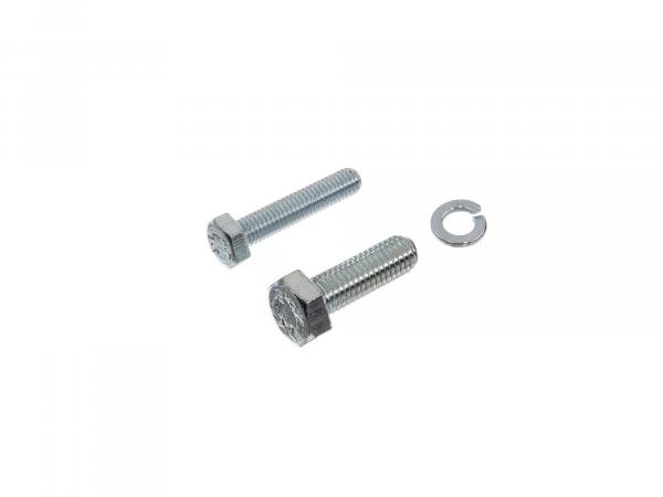 Set: Hexagon bolts for kick starter foot pedal Schwalbe KR51/1 KR51/2