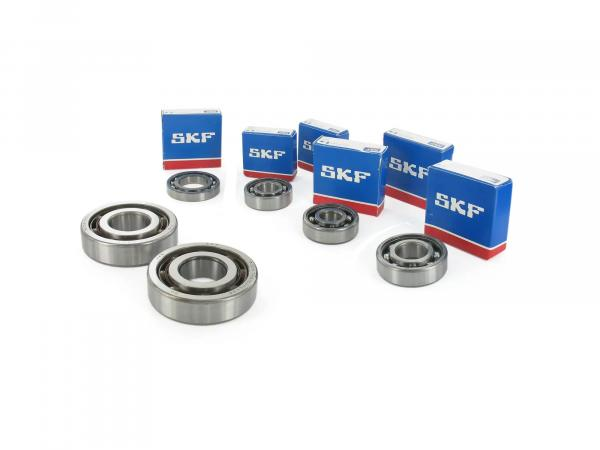 Set: Ball bearing motor, 8 pieces - MZ ETZ 250, 251, 301