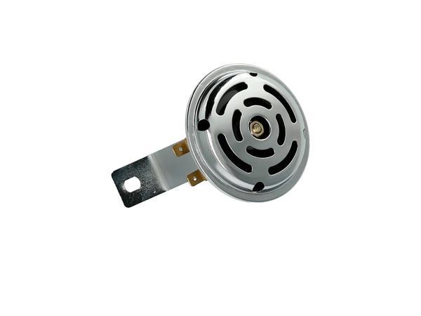 10001788 Hupe 6V mit Halter in Chrom - für Simson S50, S51, S70 - Bild 1