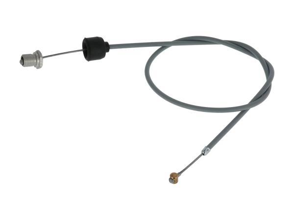 Kupplungszug grau, Handhebel mit Nachstellung - für MZ ES 175/1, 250/1, 300