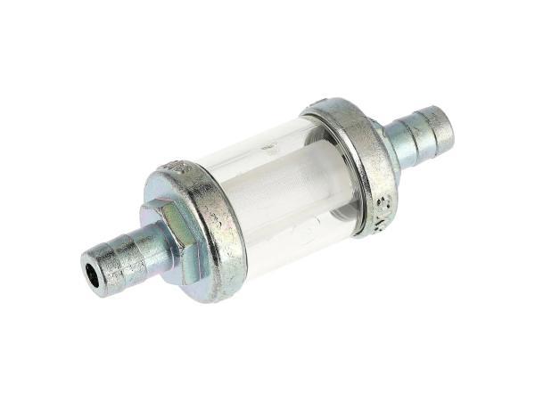 Leitungsfilter massiv Ø8mm für Benzinschlauch, verzinkt - MZ ES, TS, ETS, ETZ u.a.