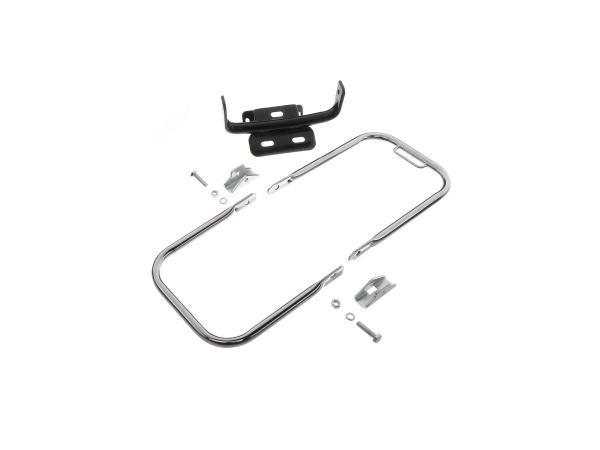 10066647 Gepäckträger hinten komplett (langer Stützbügel + Schutzblechhalter) - Simson S50, S51, S70 - Bild 1