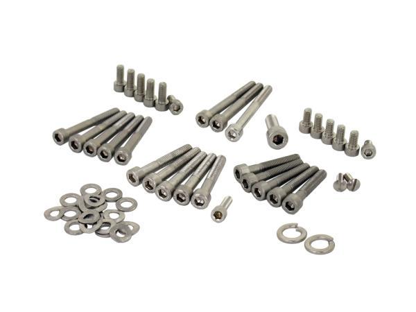 Set: Hexagon socket head screws in stainless steel for engine - Simson SR4-3 Sperber, SR4-4 Habicht