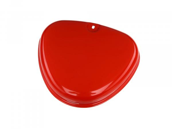 side cover right, flame red - for Simson S50, S51, S70