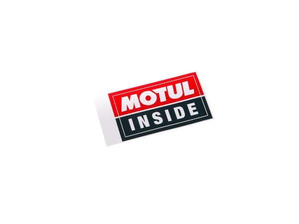 MOTUL Inside Aufkleber - 4 cm