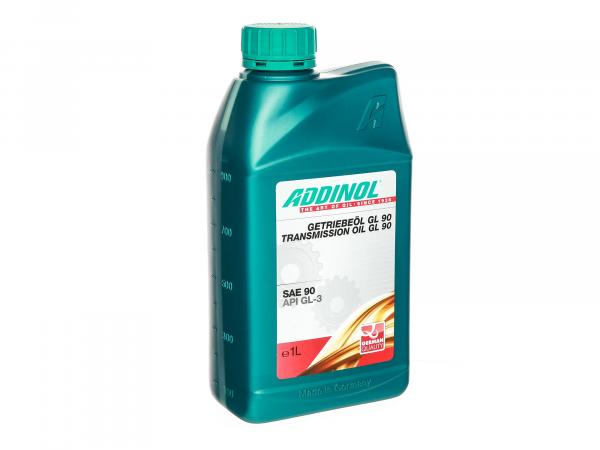 ADDINOL - GL90, Gear Oil (SAE-Class 90) semi-synthetic - 1 L can