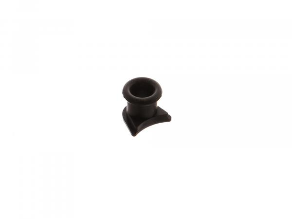 Cable grommet, rubber grommet for dipper switch, light switch - black - Simson SR1, SR2, AWO - MZ - IWL
