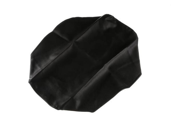 Sitzbankbezug schwarz, glatt - für MZ ETZ125, ETZ150, ETZ251, ETZ301