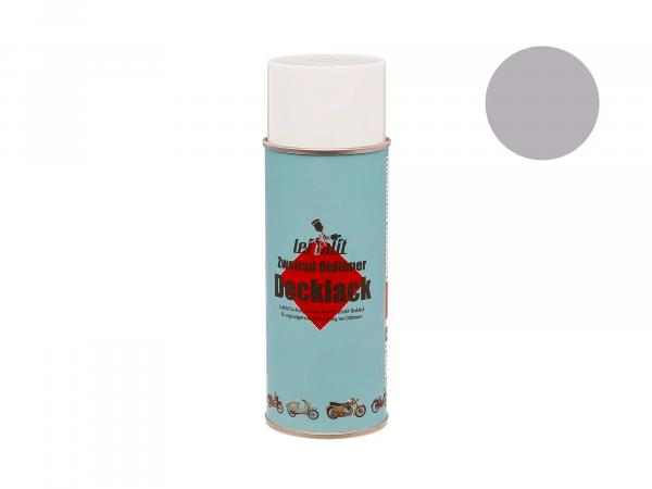 Spray can Leifalit top coat dolphin blue - 400ml