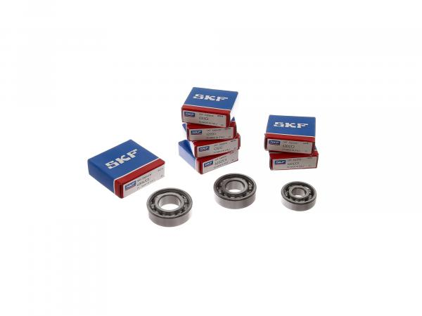 Set: Ball bearing motor, 7 pieces - MZ RT125/2 - IWL SR56 Wiesel