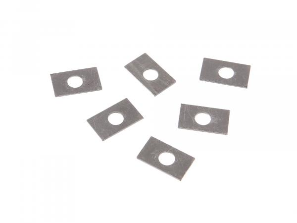 Set: 6x safety plate, pressure plate - BK350
